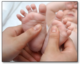 baby massage RMT